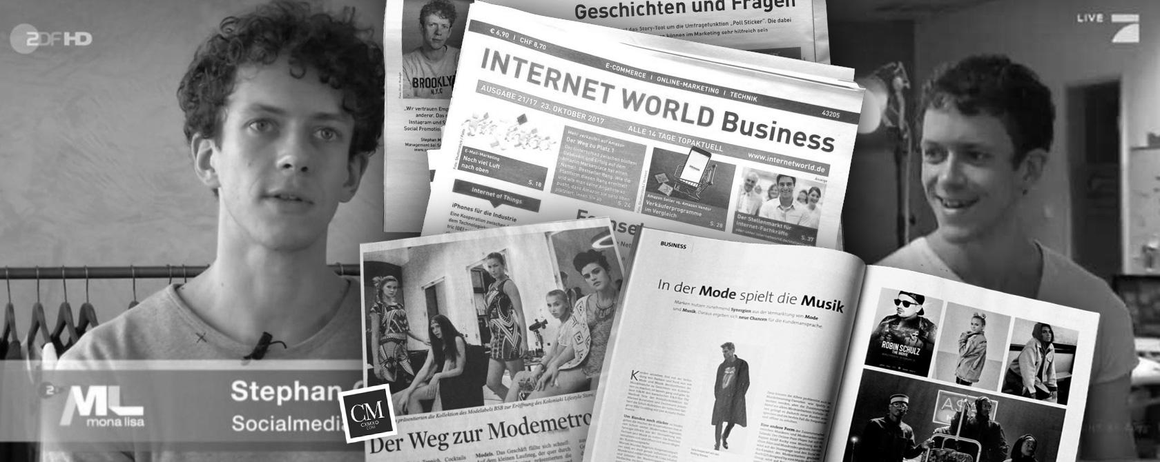 Ekspert på tv, i aviser og som foredragsholder ved arrangementer: Social Media Marketing med Stephan Czaja