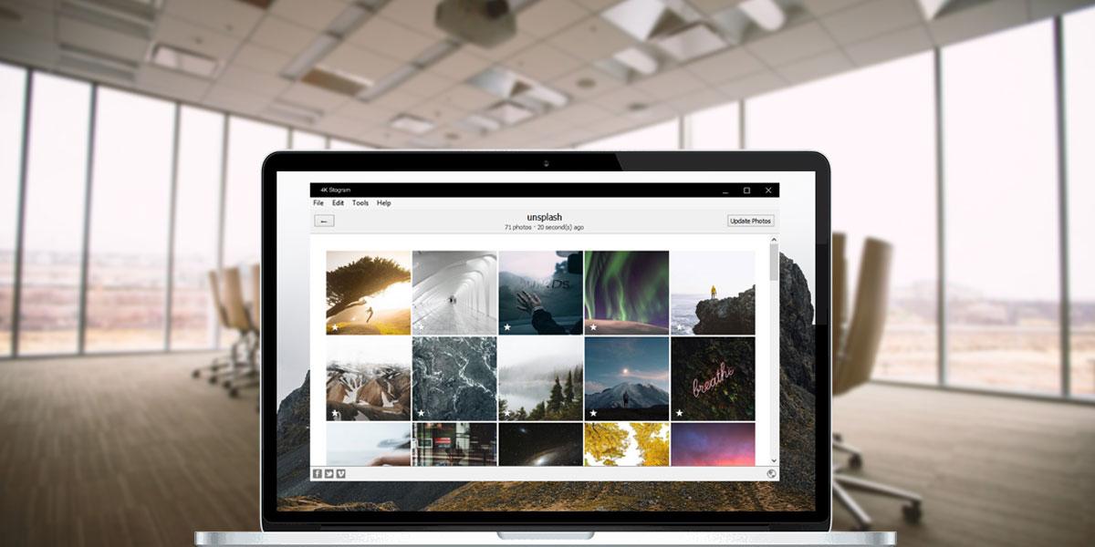 4K Stogram: Download billeder, video, historier og trendscouting - Instagram Tool Test