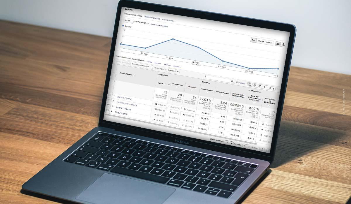 UTM-parametre: Definition, Google Analytics til e-handel, Youtube, Facebook & Co. + eksempel