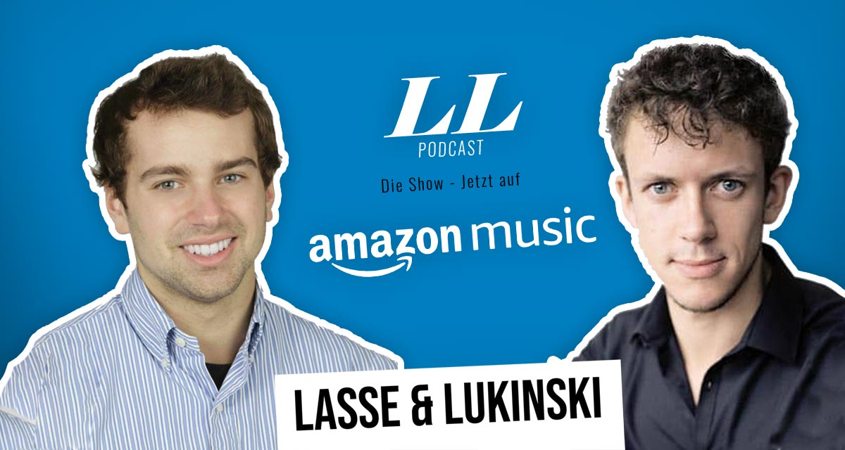 Amazon Music: Lasse & Lukinski Show nu også på Amazon!