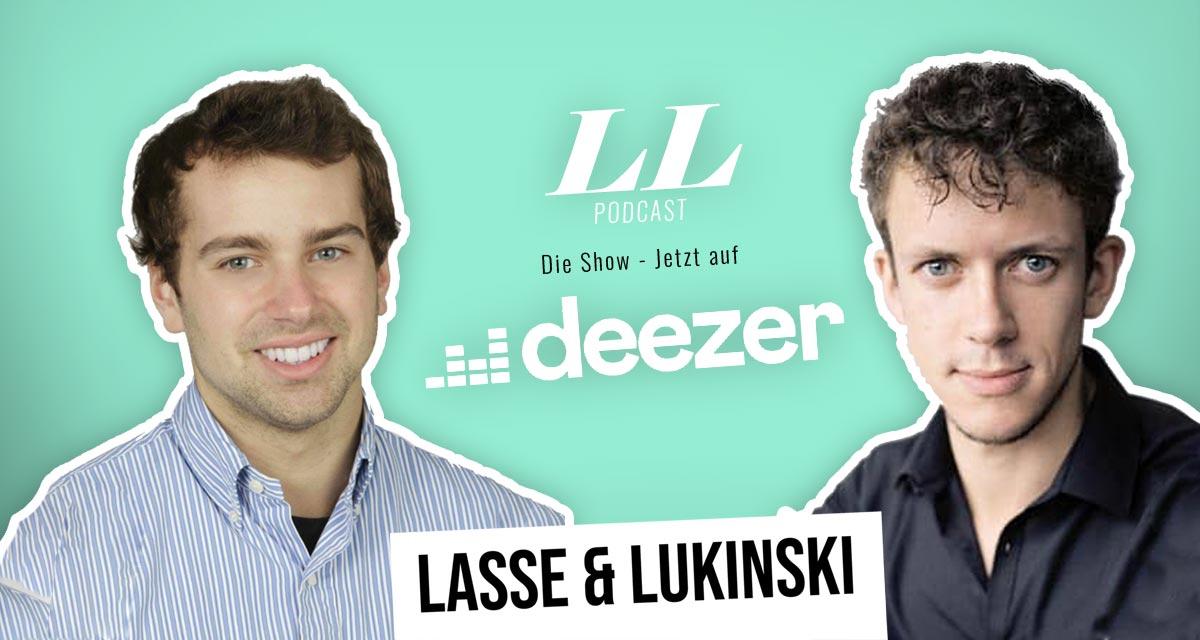 Deezer: Lasse & Lukinski Show nu også på Deezer!