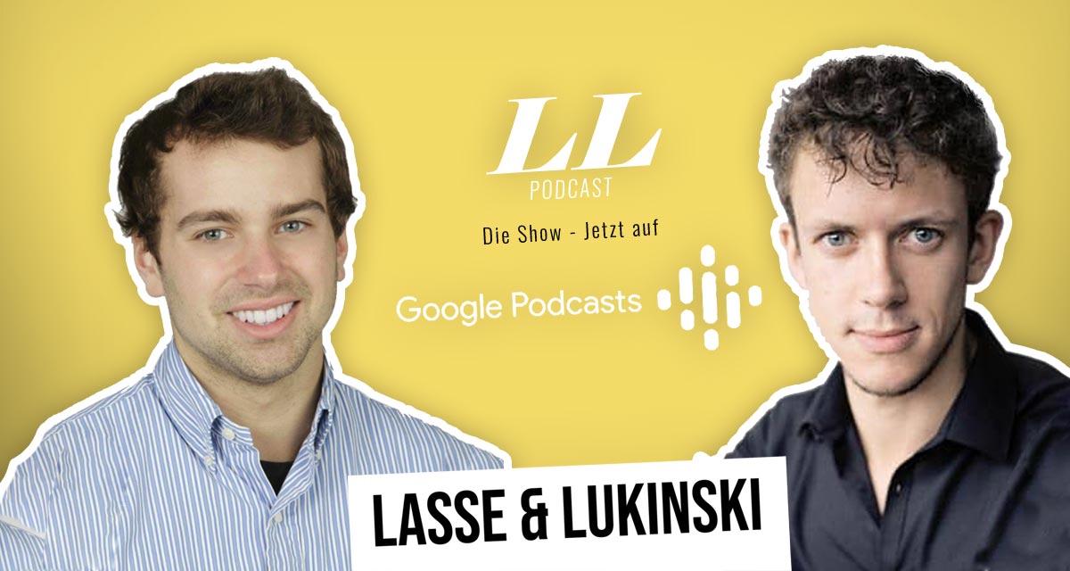 Google Podcasts: Lasse & Lukinski Show nu også på Google!