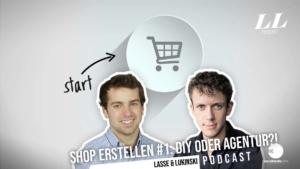 Opret online butik #1: DIY eller dyrt bureau?! - Podcast om markedsføring