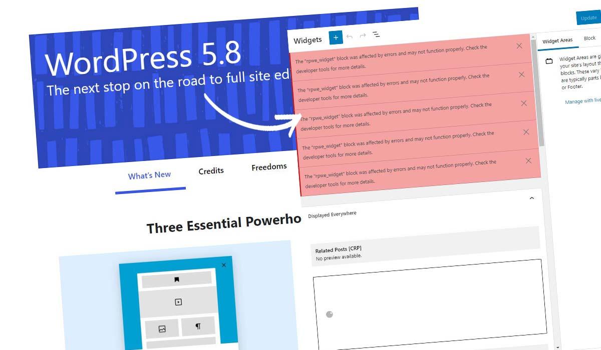 Deaktiver WordPress Block Widget! Sådan gør du det på 5 sekunder + instruktioner